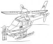 militaire lego police dessin à colorier