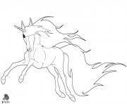 licorne by purapuss dessin à colorier