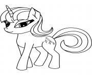 cute pony licorne 2 dessin à colorier