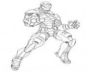 Coloriage garcon super heros spiderman dessin