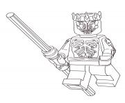 Coloriage lego starwars angry