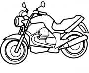 moto 129 dessin à colorier