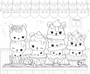 Coloriage Num Noms Cute Toy Series dessin