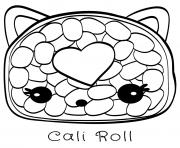 Coloriage Sara strawberry Num Noms dessin
