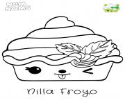 Coloriage Num Nums Pizza Peppy Roni dessin