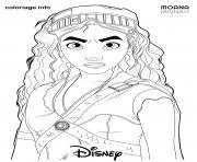 Coloriage Mickey danse dessin