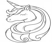 barbie licorne de princesse dessin à colorier
