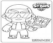 brawl stars brock dessin à colorier