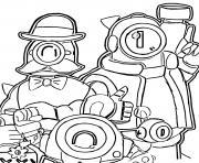 Rico Barley et Nani dessin à colorier