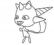 Longg kwami dessin à colorier