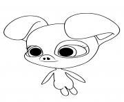 Daizzi kwami dessin à colorier