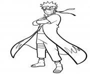 Naruto Uzumaki dessin à colorier