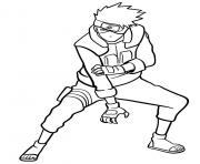 Kakashi Hatake dessin à colorier