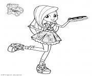 My Little Pony Equestria Girls Fluttershy Princess dessin à colorier