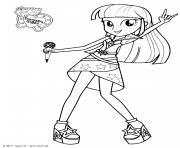 My Little Pony Twilight Sparkle Sings dessin à colorier