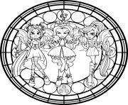 Twilight Sparkle Equestria Girls dessin à colorier