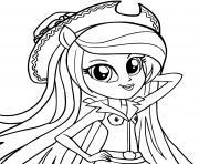 Applejack equestria girl dessin à colorier