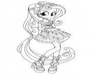 Equestria Girls Rainbow Rocks dessin à colorier