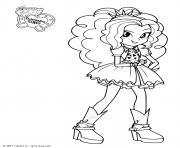 Equestria Girls Princess dessin à colorier