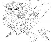 Coloriage My Little Equestria Girls
