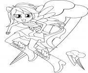 My Little Equestria Girls dessin à colorier