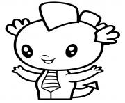 Dragon Spike dessin à colorier
