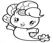 Sea pony Pinkie Pie dessin à colorier