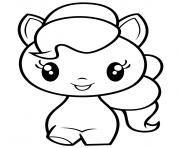 Pinkie Pie Cutie dessin à colorier
