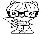 Equestria Girl Twilight Sparkle dessin à colorier