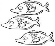 poisson Hiodontiformes aux yeux dor dessin à colorier