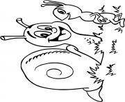 escargot de bourgogne dessin à colorier