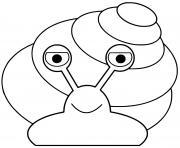 hugo lescargot maternelle dessin à colorier