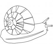 un escargot plus rapide que hugo lescargot dessin à colorier