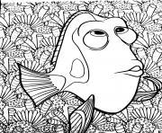 Coloriage Mickey tire une luge dessin