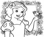Coloriage Mickey qui siffle une musique dessin