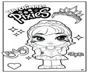 Hatchimals Pixies Girl Season 2 dessin à colorier