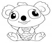 Hatchimals Koalabee dessin à colorier