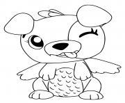 Hatchimals Puppit dessin à colorier