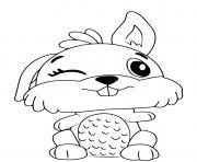 Hatchimals Bunwee dessin à colorier