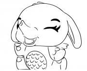 Hatchimals Giggling Elefly dessin à colorier