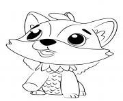 Hatchimals Polar Foxfin dessin à colorier