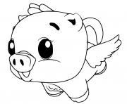 Hatchimals Cloud Pigpiper dessin à colorier