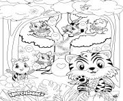 Hatchimals Egg Hunt dessin à colorier