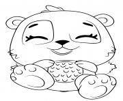 Hatchimals Giggling Pandor dessin à colorier