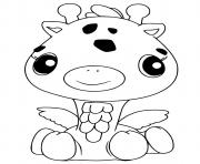 Hatchimals Girreo dessin à colorier