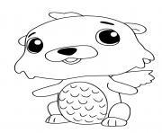 Hatchimals Swotter dessin à colorier