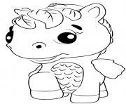 Hatchimals Ponette dessin à colorier