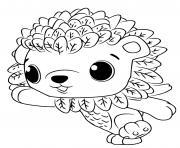 Hatchimals Cloud Leoriole dessin à colorier