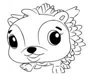 Hatchimals Hedgyhen dessin à colorier