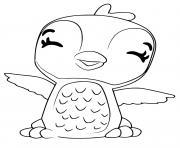 Hatchimals Giggling Penguala dessin à colorier